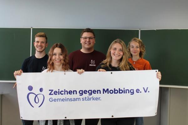 Zeichen gegen Mobbing